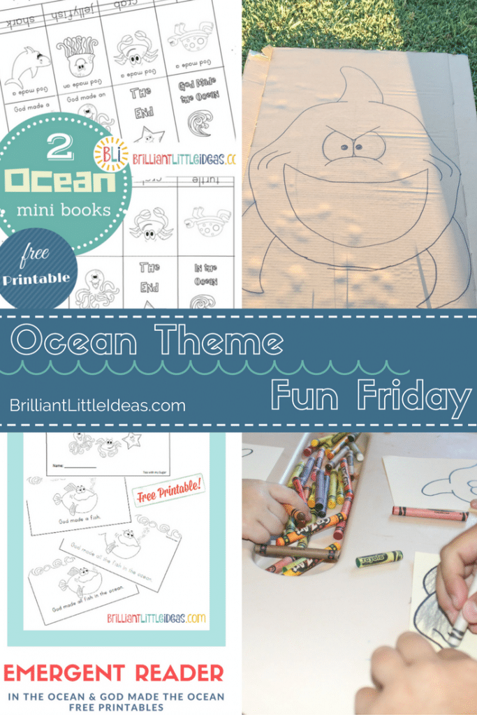 Shark Theme Fun Friday is chock full of DIY kid crafts and free printables. Emergent reader books, mini books, crafts, activities.Have your own Shark week.