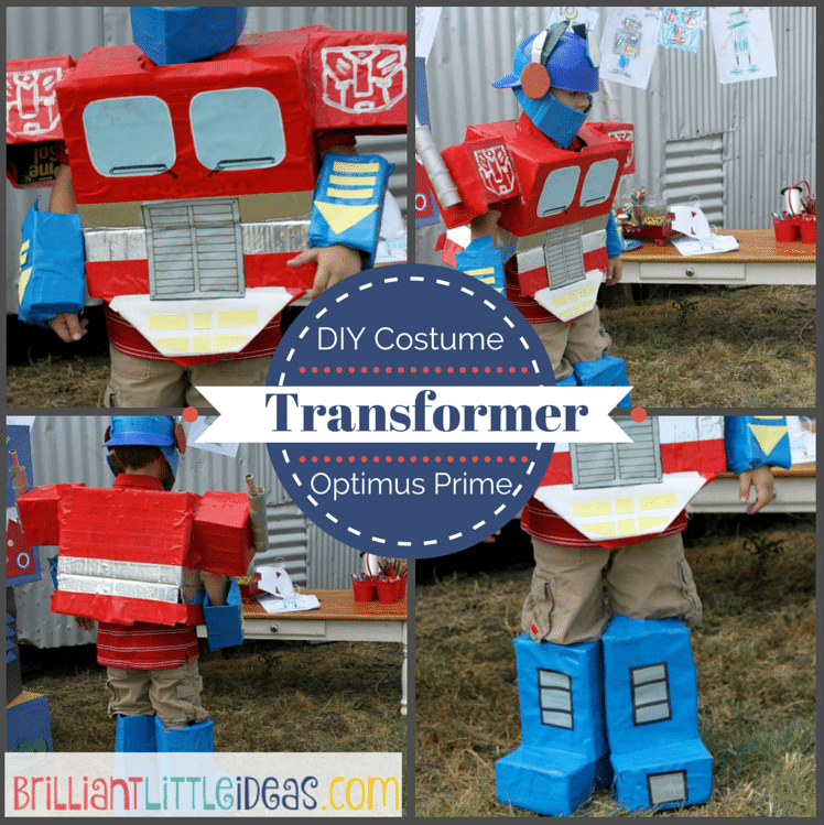 Transformers Costume3