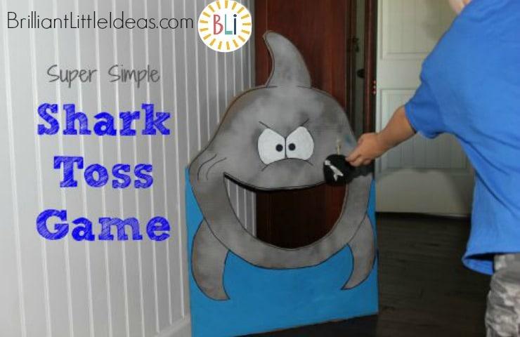 DIY Shark Toss Game