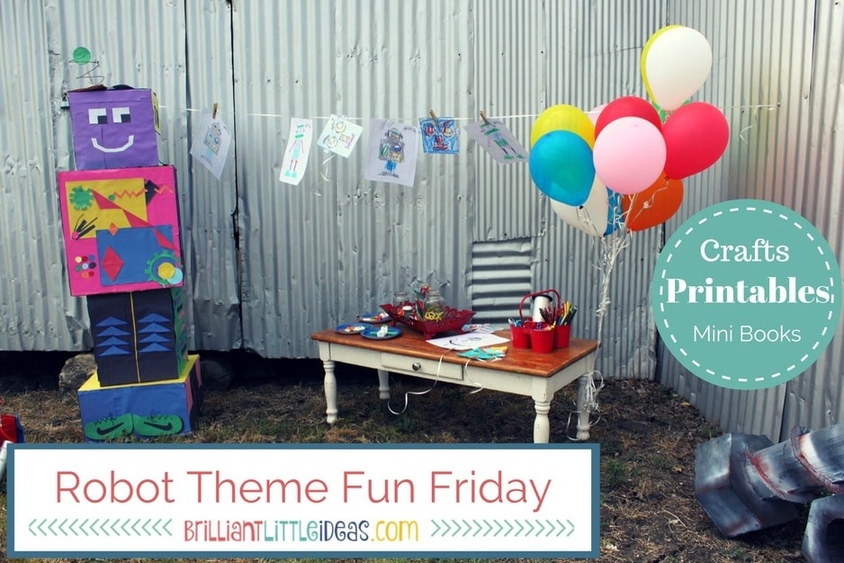 Free Printables & Robot crafts for kids. Robot Masks, Robot color pages, Robot book, Robot finger puppets, & more for your Robot Theme Fun Friday