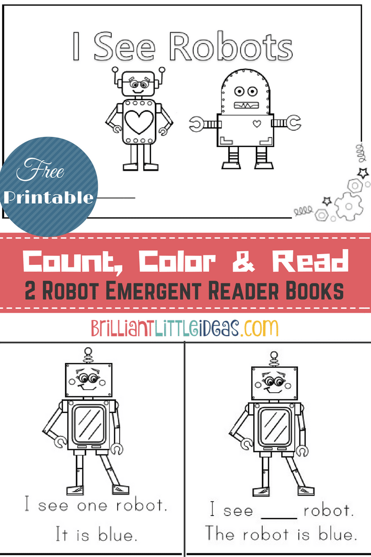 photo relating to Books I've Read Printable identify 2 Robotic Emergent Reader Guides Outstanding Minor Strategies