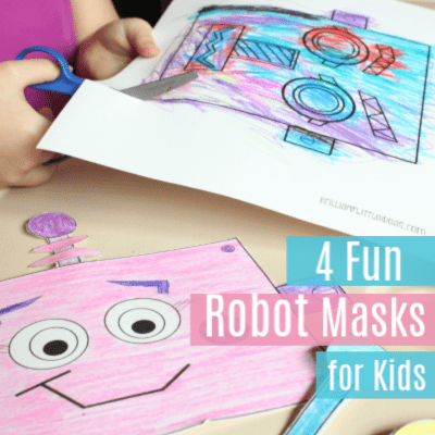 4 Fun Robot Masks for Kids