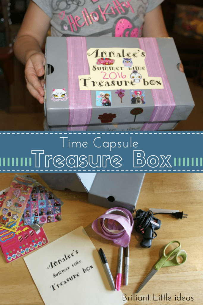 Time Capsule Treasure Box Brilliant Little Ideas