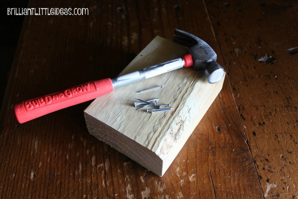 Why I let my kids play with tools and you should too. It's a great Boredom Buster, stress reliever and self esteem booster for kids.
