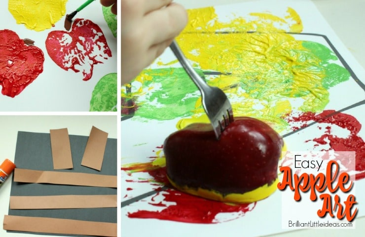 Apple Arts And Crafts Ideas