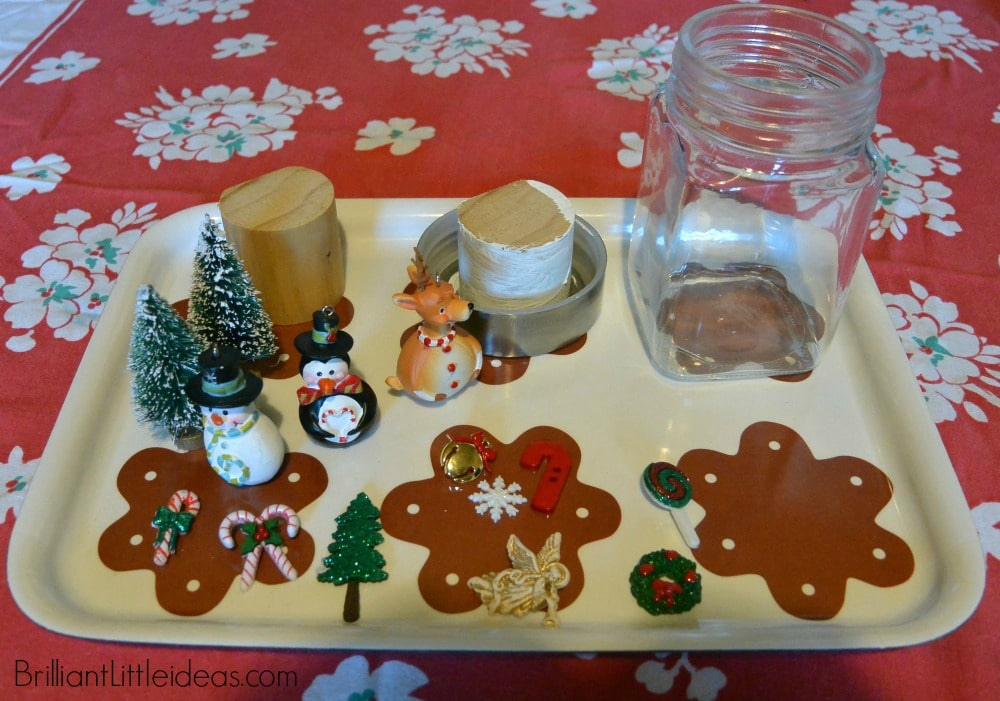 DIY Dry Snowglobes, easy Christmas gift, teacher gift, gifts kids can make, quick Christmas gift, cheap Christmas gift, last minute Christmas gift