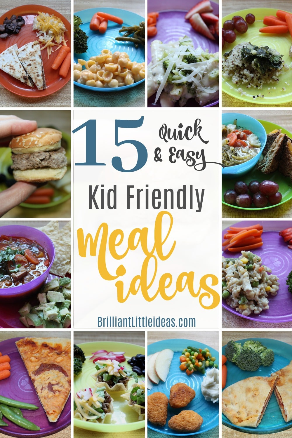 15 quick easy kid friendly meal ideas brilliant little for Fun kids dinner ideas