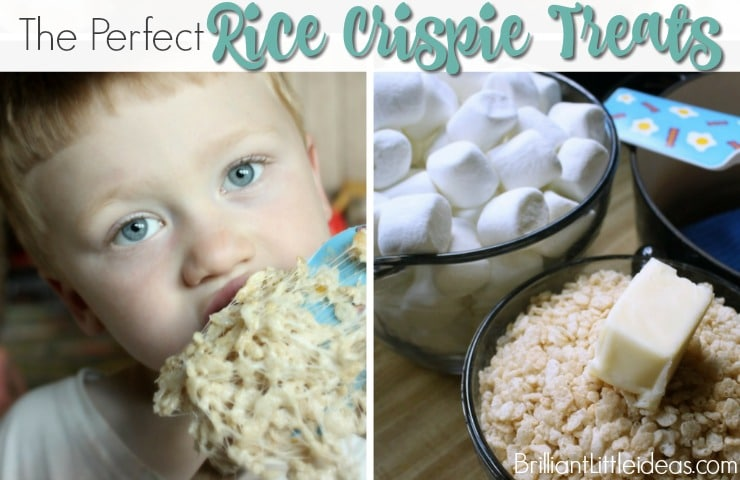 The Perfect Rice Crispie Treats