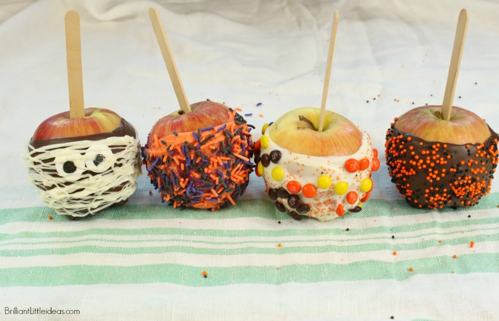 Simple Fall Candy Apples | Brilliant Little Ideas