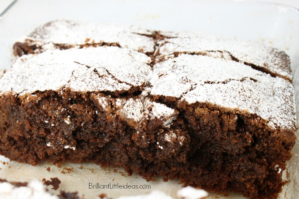 Best Fudgey Brownie Ever! I made this easy brownie recipe by accident. You'll love my secret ingredient. #BestBrownies #brownies #easyrecipe