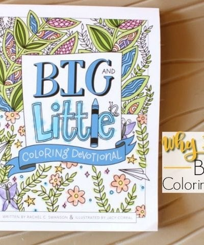 See Why I love this book in my new Big & Little Coloring Devotional Review.Cheap Christmas gift for girls. Easy Birthday Gift