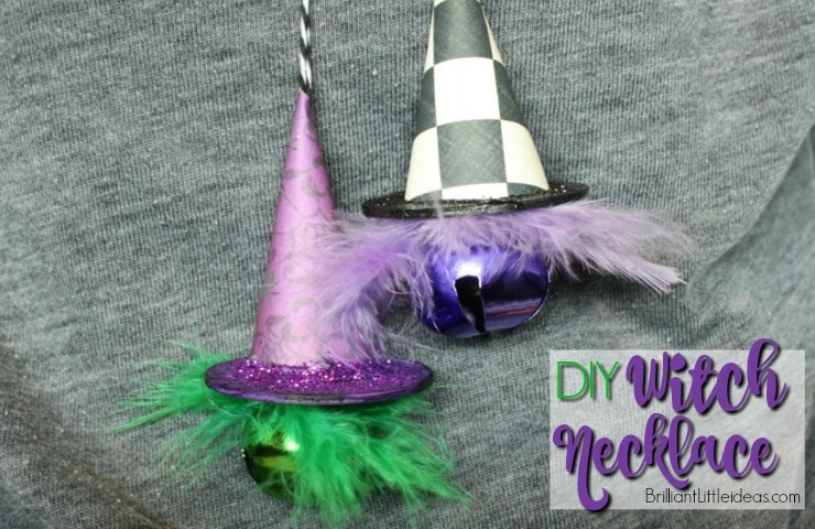 DIY Witch Hat Necklace