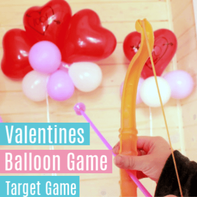 Valentines Balloon Game for Kids -It's Target Practice Time