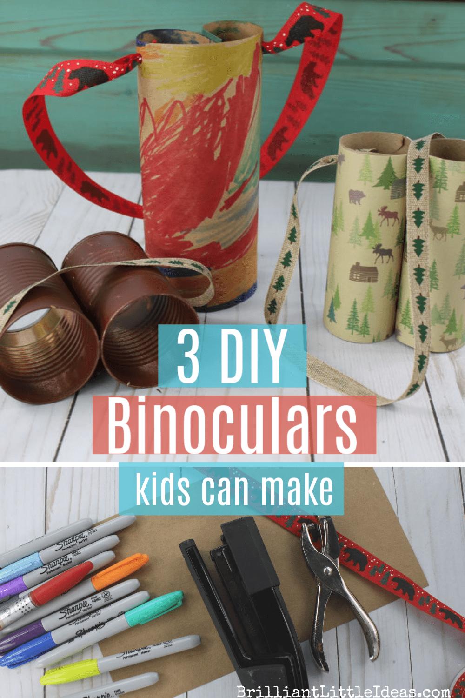 DIY Kids' Binoculars