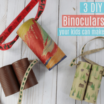 3 DIY Binoculars Your Kids Can Make