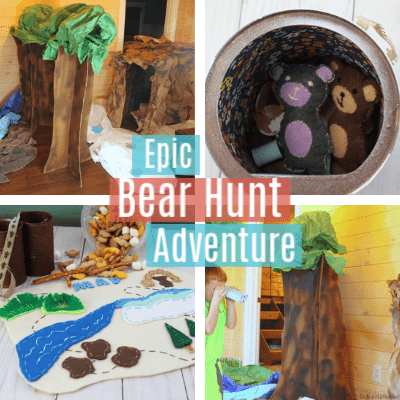 Were Going on a Bear Hunt | Pretend Play for Kids