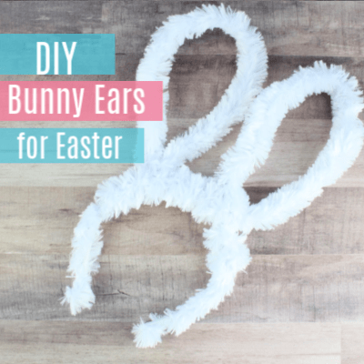 Easy DIY Bunny Ears Headband for Kids
