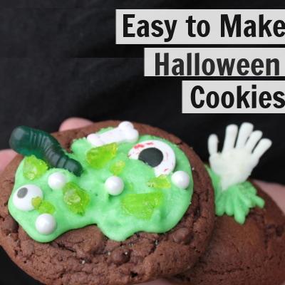 Halloween Cookie Recipe | Cauldron Cookie & Graveyard Cookie