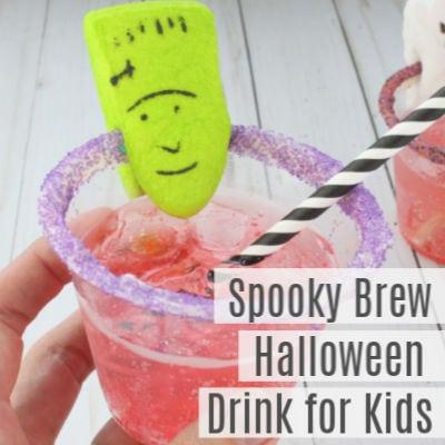 Spooky Brew Halloween Drink for Kids