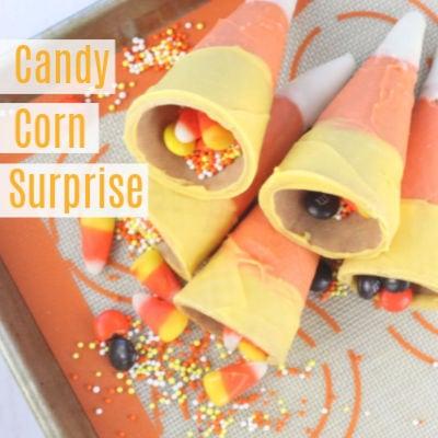 Candy Corn Surprise a Fun Fall Treat