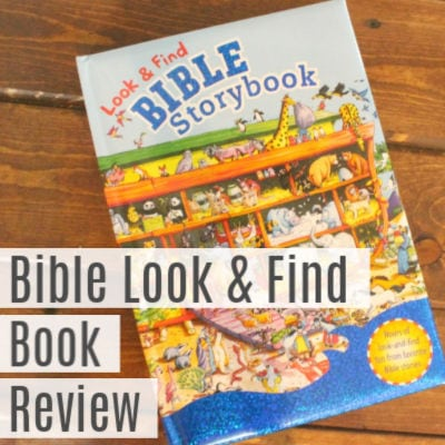 Look & Find Bible Storybook -Book Review