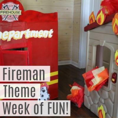Fireman Theme Fun Friday