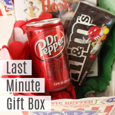 Movie Gift Box- Last Minute Christmas Gift for Kids
