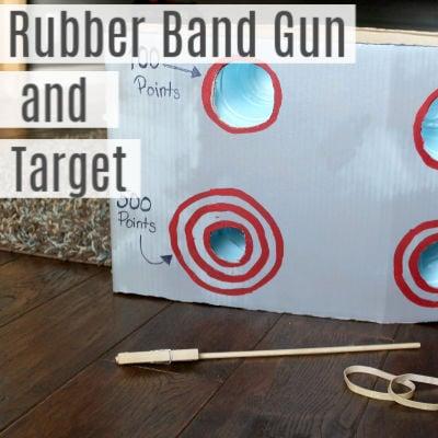 DIY Rubber Band Gun and Target