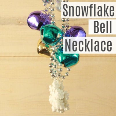 Snowflake Necklaces for Kids