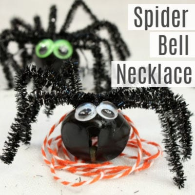 Simple Spider Necklace