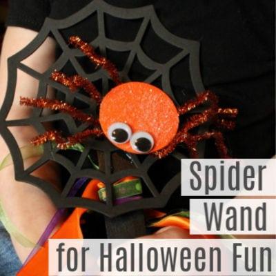 Quick Craft Spider Wand