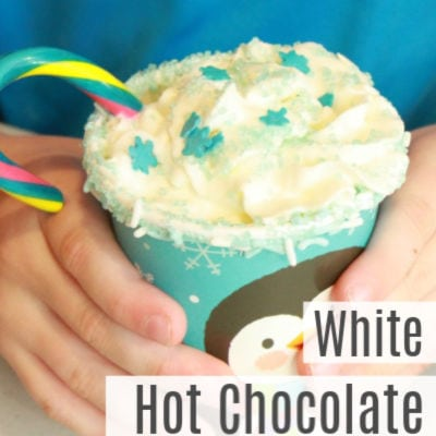 Ultimate White Hot Chocolate