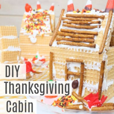 Thanksgiving Cabin -Fall Gingerbread House Recipe