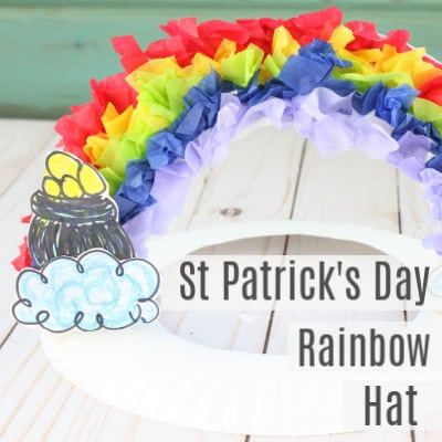 St Patricks Day Paper Plate Hat