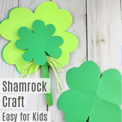 Shamrock Paper Craft