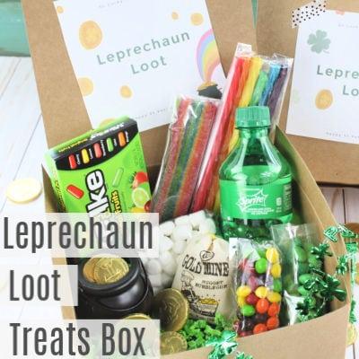 Leprechaun Loot -St Patricks Day Treat Box