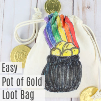 St Patrick's Day Coin Bag