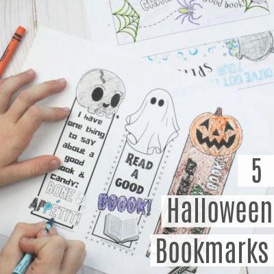 Halloween Bookmarks Printable