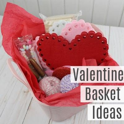 Valentine's Day Gift Basket Ideas