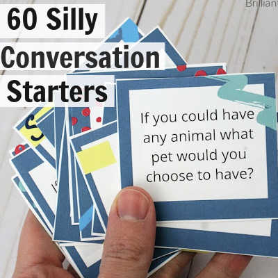 60 Silly Conversation Starters for Kids